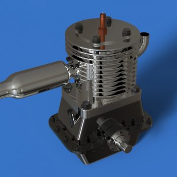 2 stroke engine