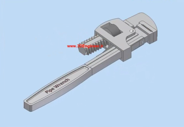 آچار- Pipe Wrench