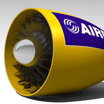 jet engine tubin blade