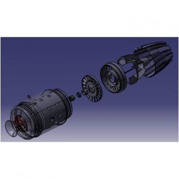 jet propulsion engine