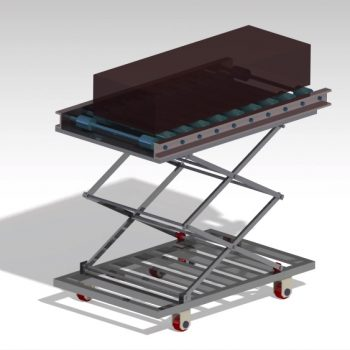 scissor lift conveyor