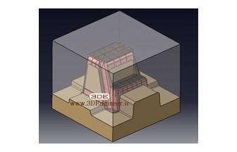 طراحی قالب صندلی